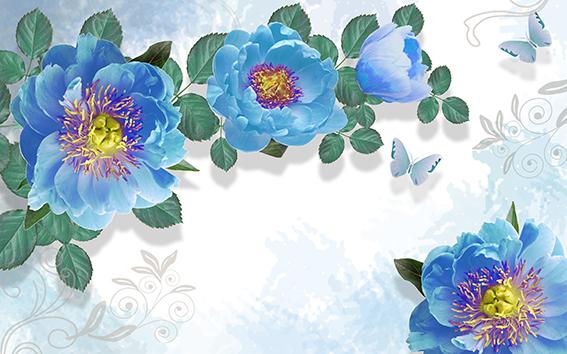 Цветы и растения - 30 | Wall-Style