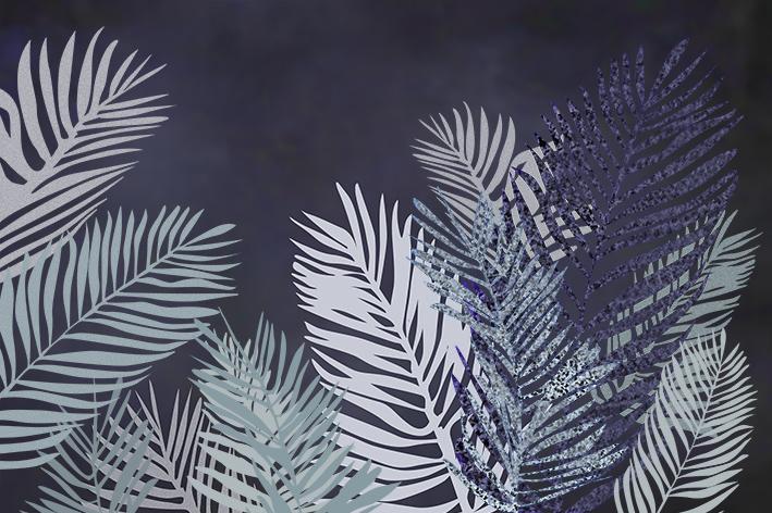 Экзотические листья