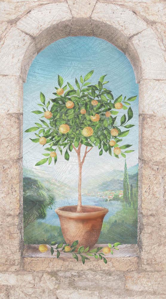 Современная фреска - 22   Wall-Style