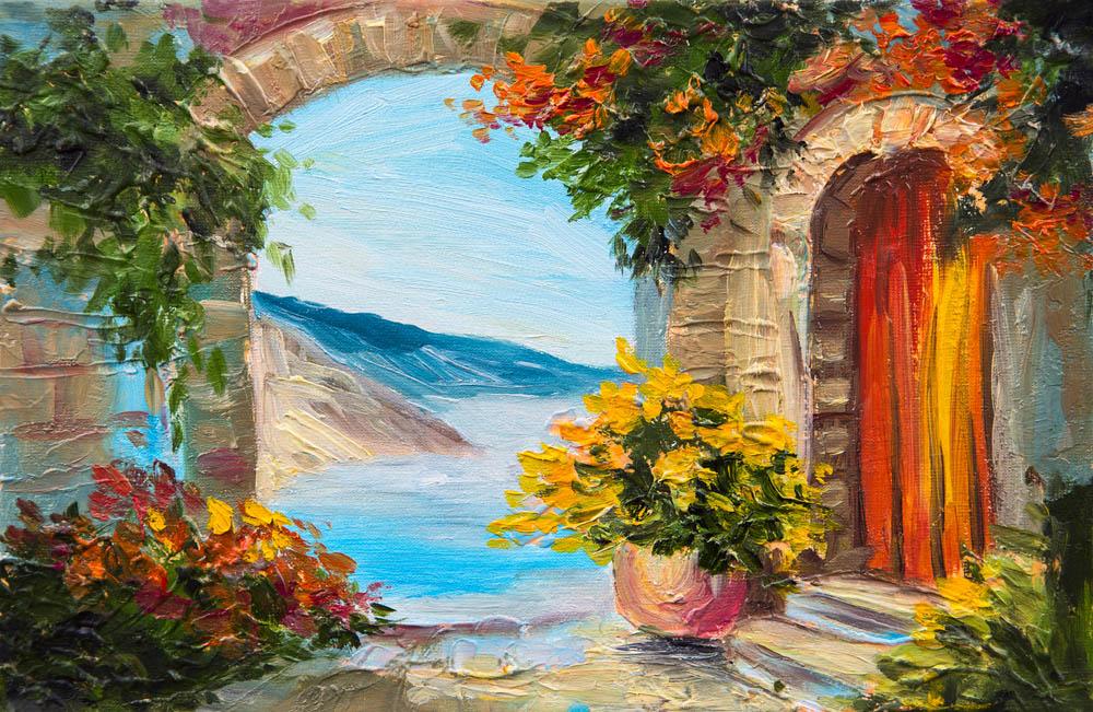 Современная фреска - 14 | Wall-Style