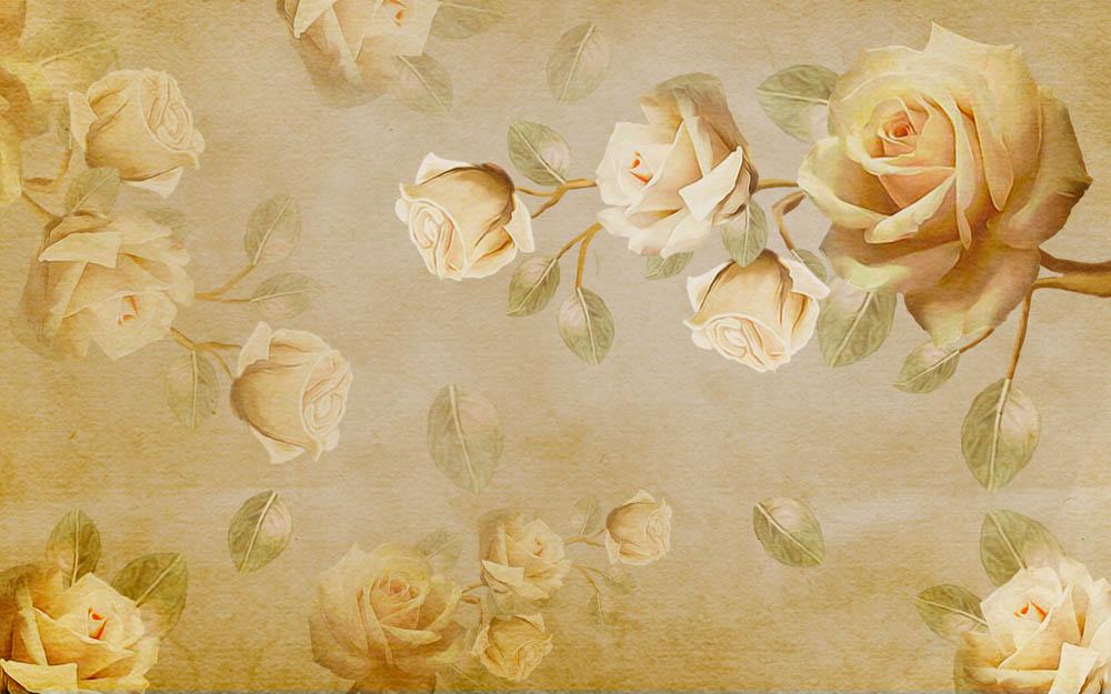 Цветы и растения - 13 | Wall-Style