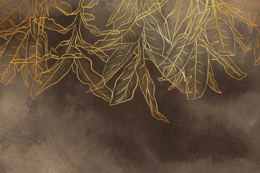 Листья - 20 | Wall-Style