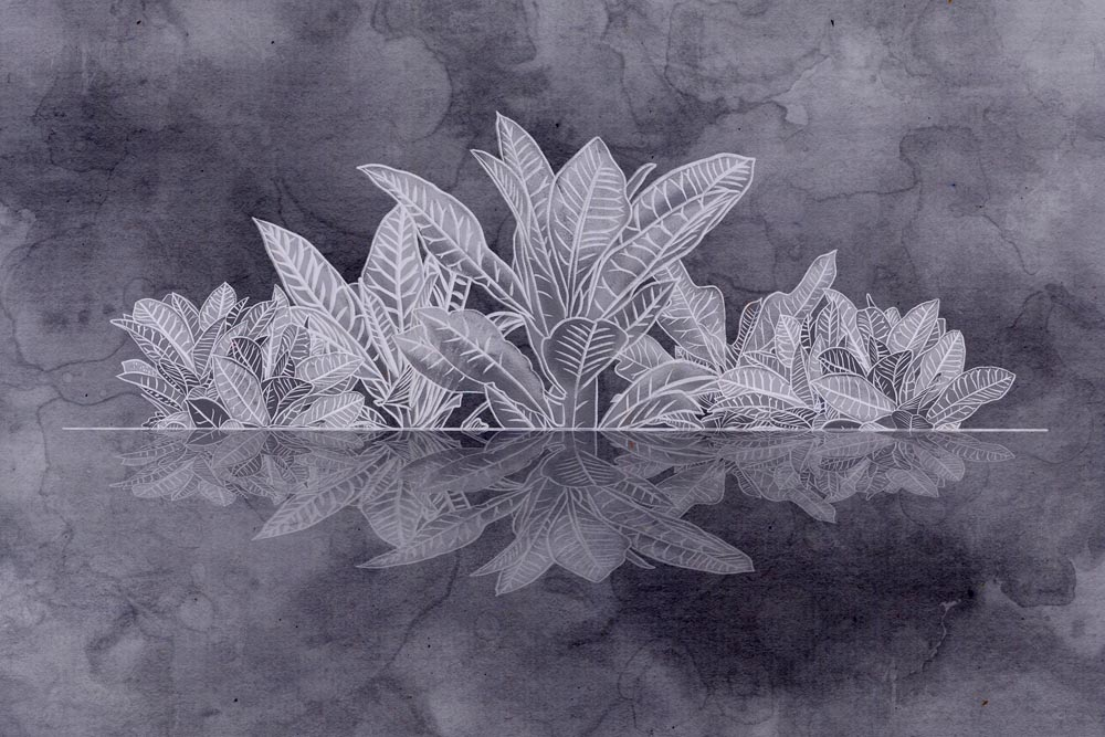 Листья - 18 | Wall-Style
