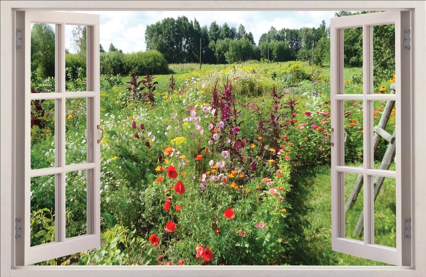 Вид из окна - 9 | Wall-Style