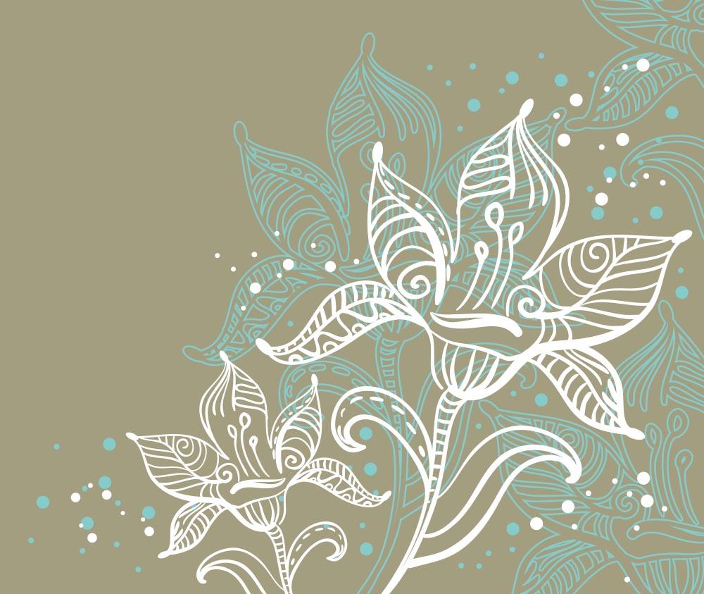 Цветы и растения - 20 | Wall-Style