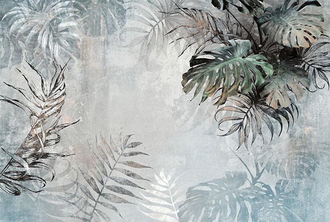 Листья - 6   Wall-Style