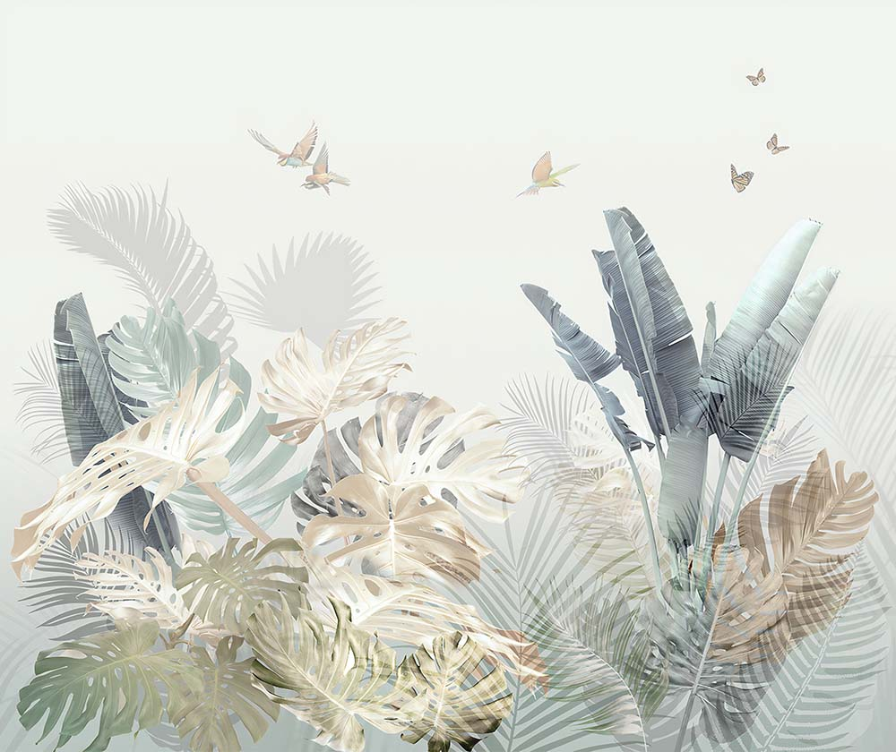Листья - 3 | Wall-Style