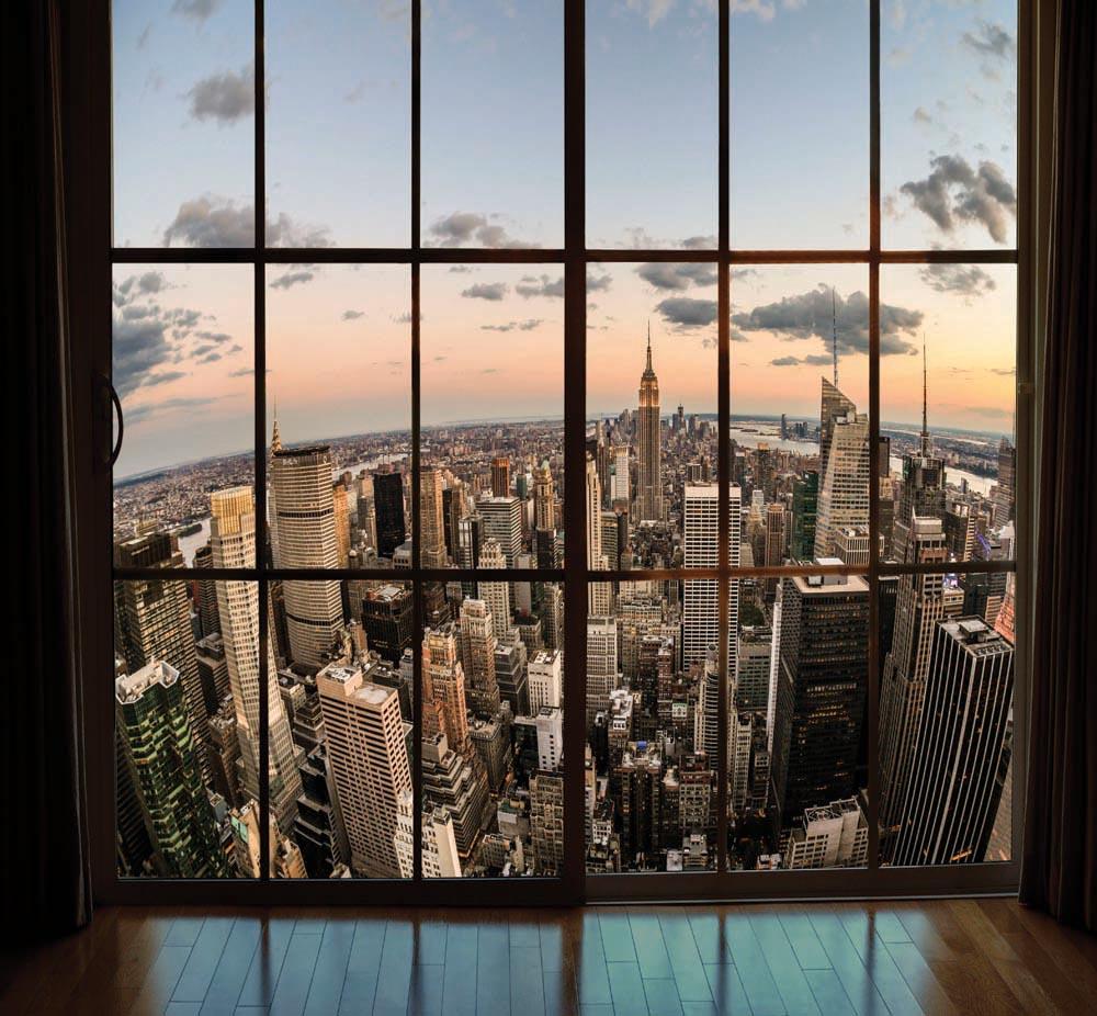 Вид из окна - 1 | Wall-Style
