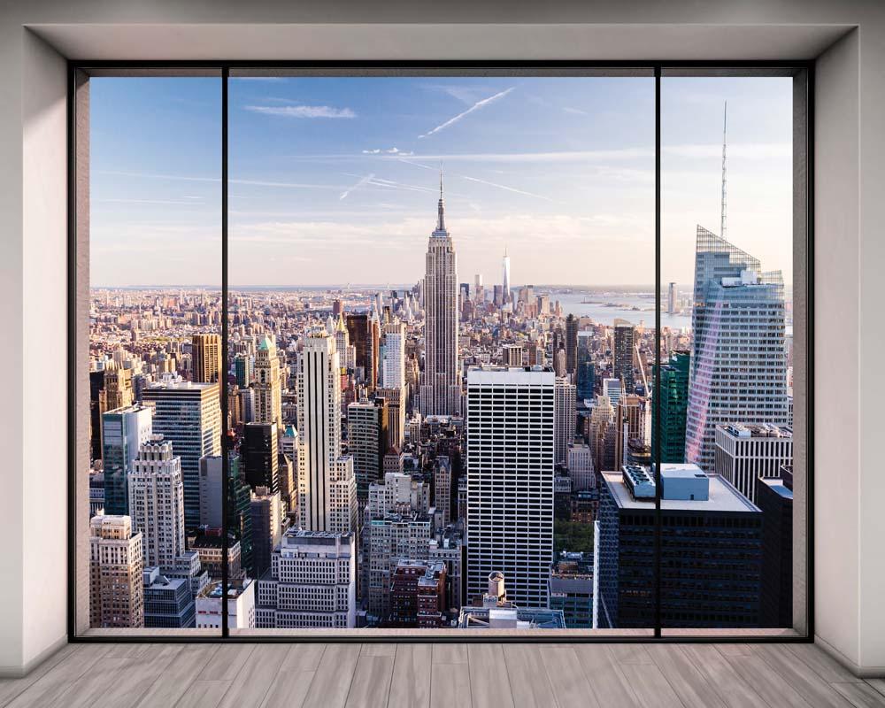 Вид из окна - 2 | Wall-Style