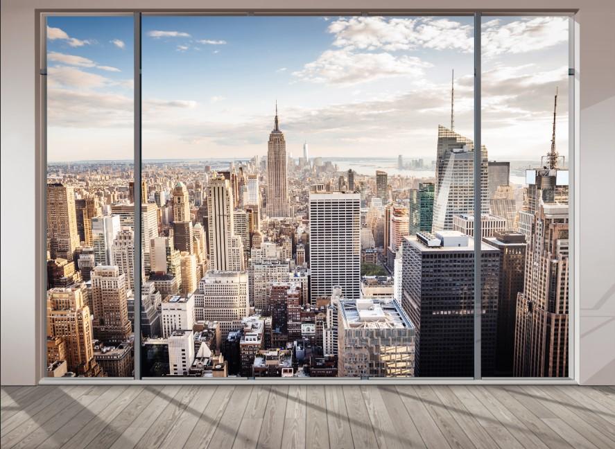 Вид из окна - 4 | Wall-Style