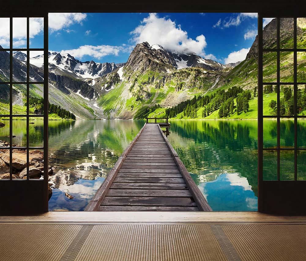 Вид из окна - 5 | Wall-Style
