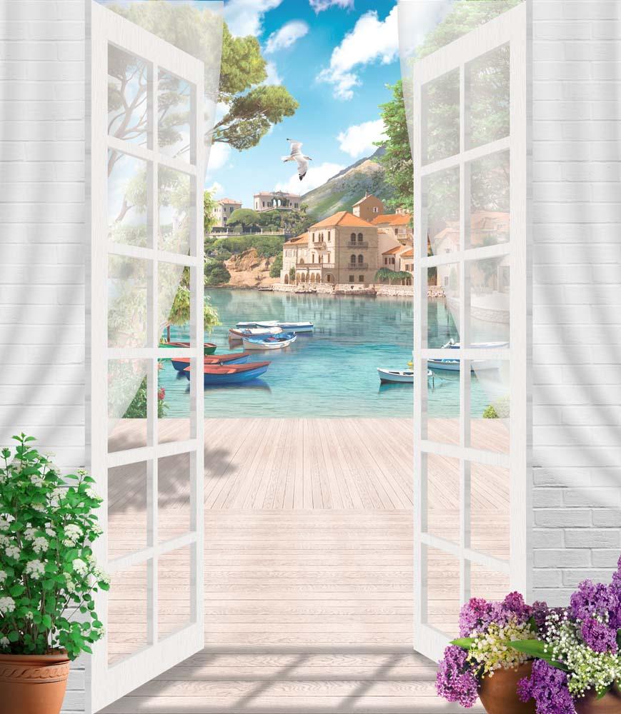 Вид из окна - 6 | Wall-Style