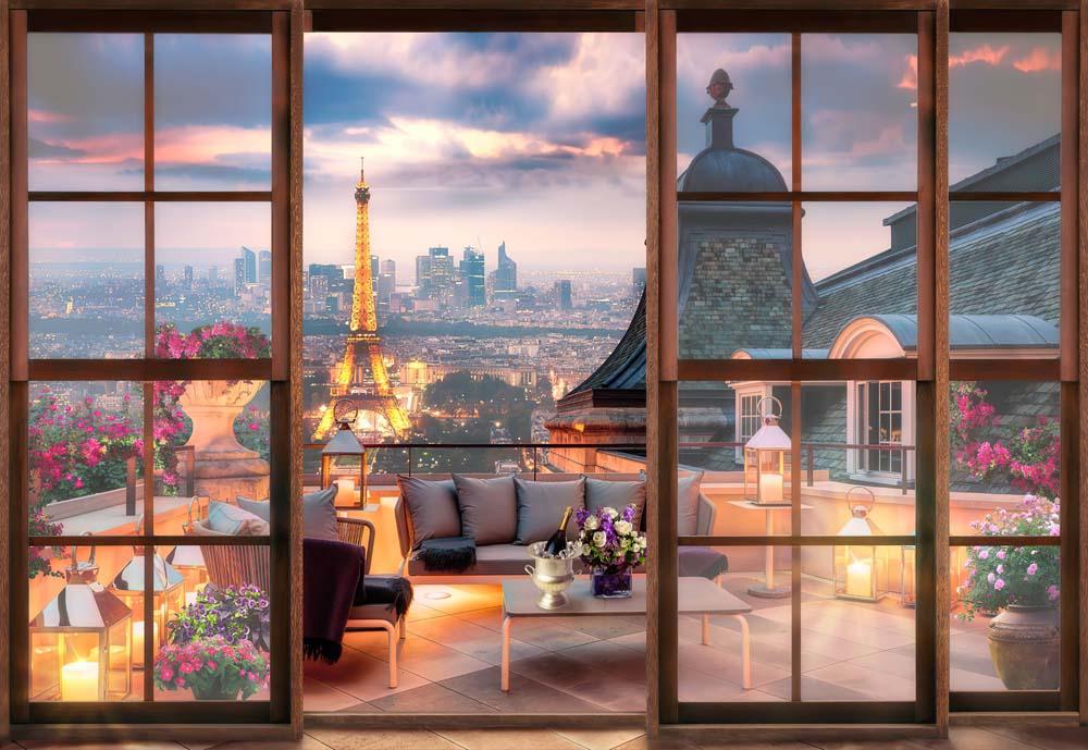 Вид из окна - 7 | Wall-Style
