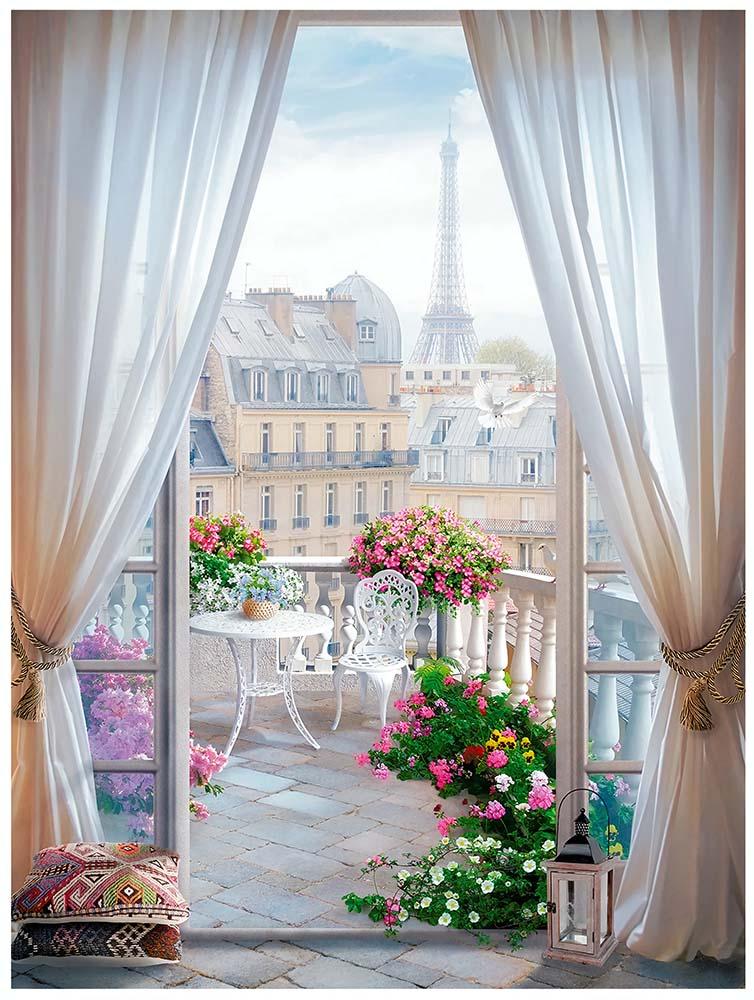 Вид из окна - 8 | Wall-Style