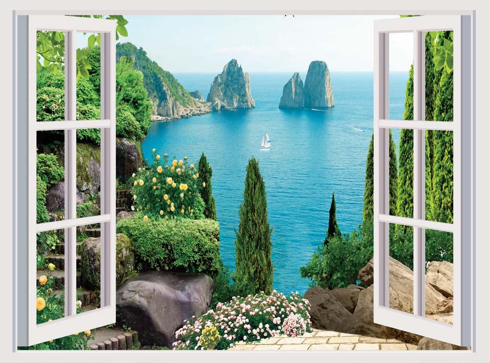 Вид из окна - 10 | Wall-Style