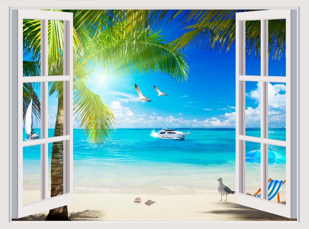 Вид из окна - 11 | Wall-Style
