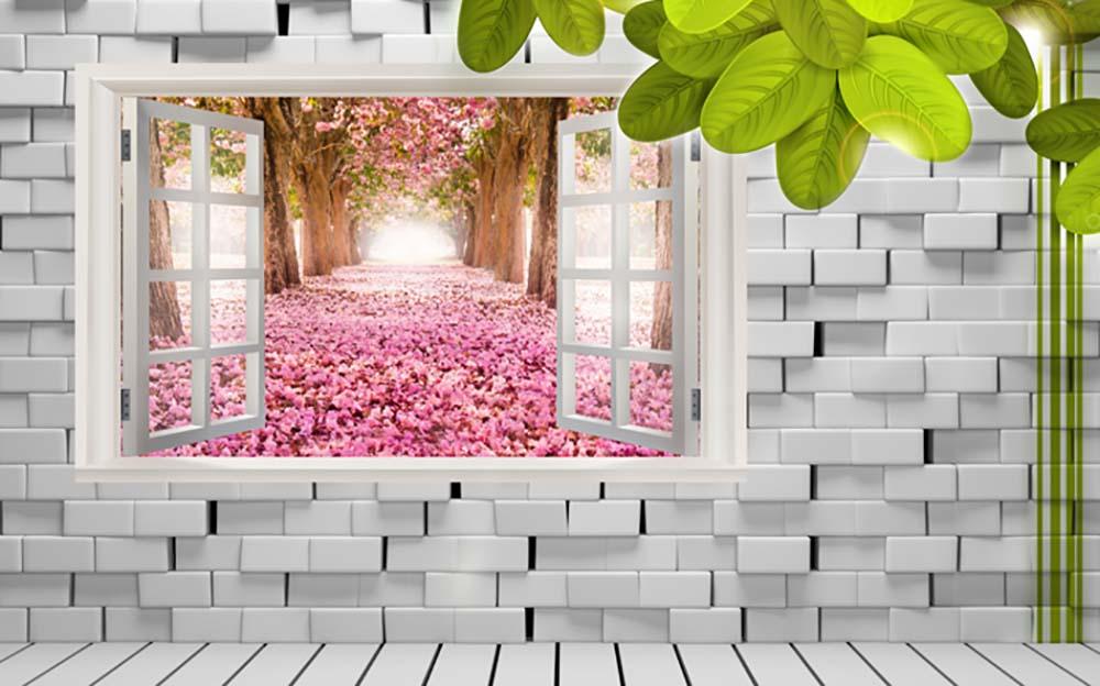 Вид из окна - 12 | Wall-Style