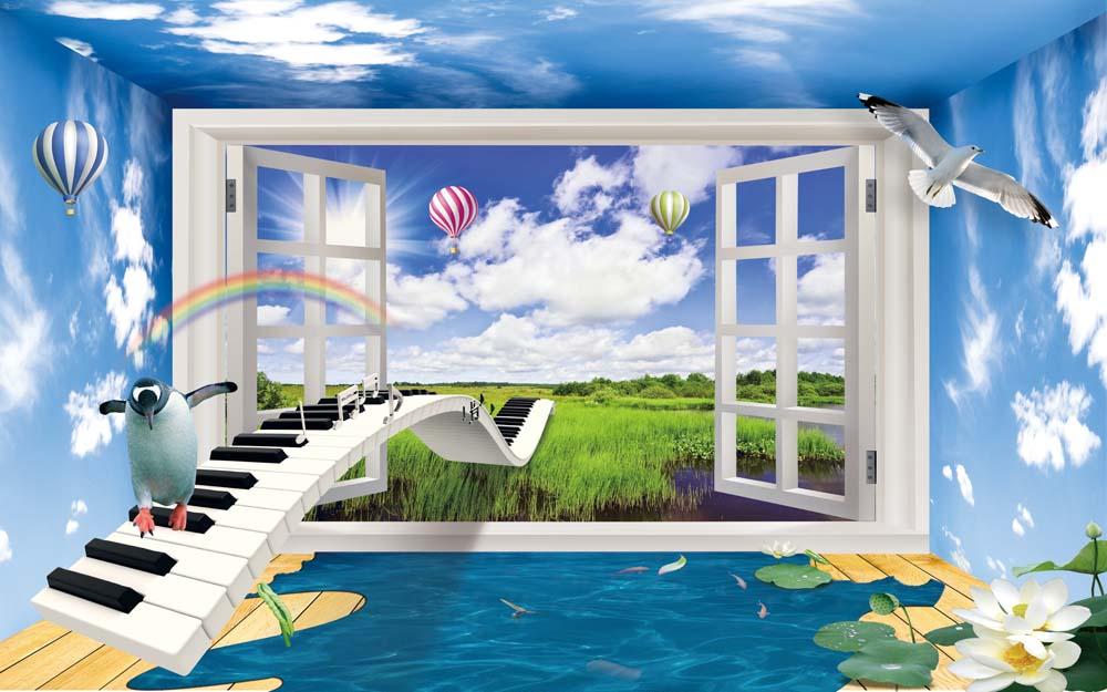Вид из окна - 14 | Wall-Style
