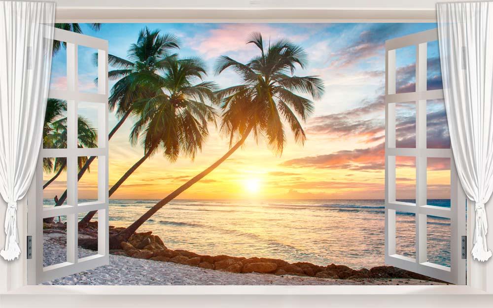 Вид из окна - 15 | Wall-Style