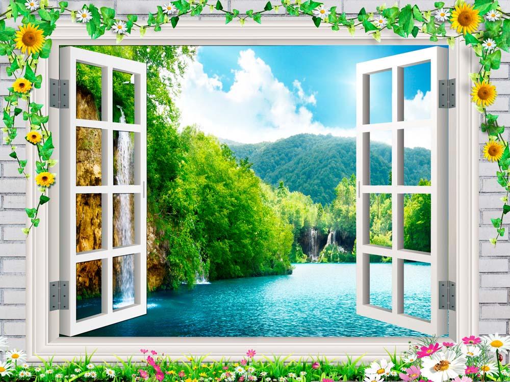Вид из окна - 16 | Wall-Style