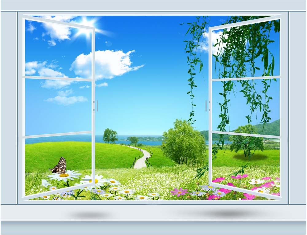 Вид из окна - 17 | Wall-Style