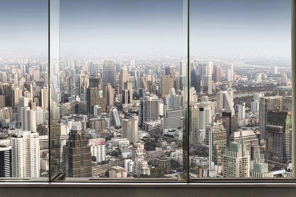Вид из окна - 18 | Wall-Style