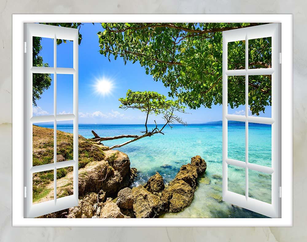 Вид из окна - 23 | Wall-Style