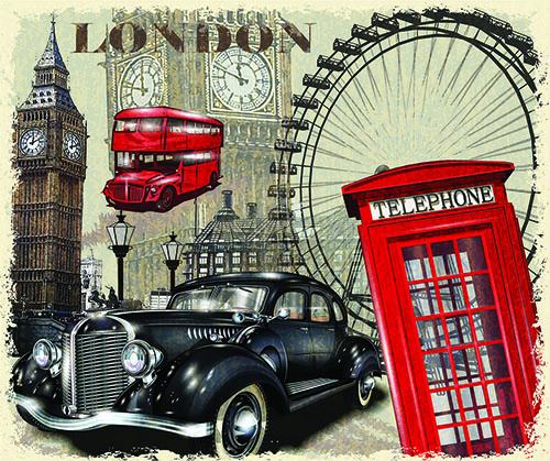Лондон и винтаж