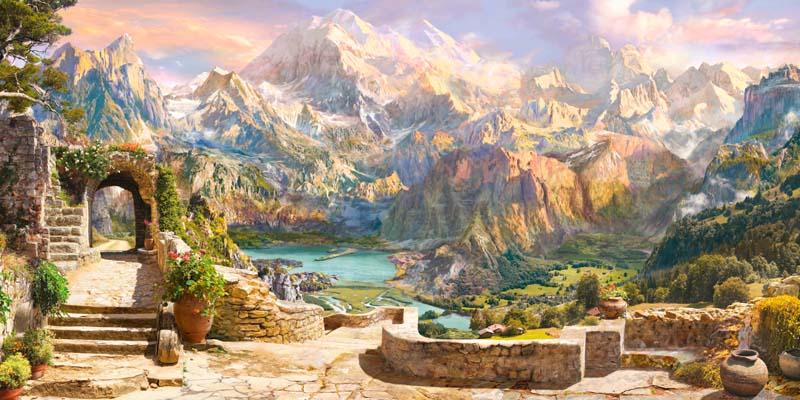 Современная фреска - 13 | Wall-Style