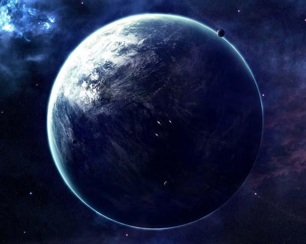 Небо и космос - 19 | Wall-Style