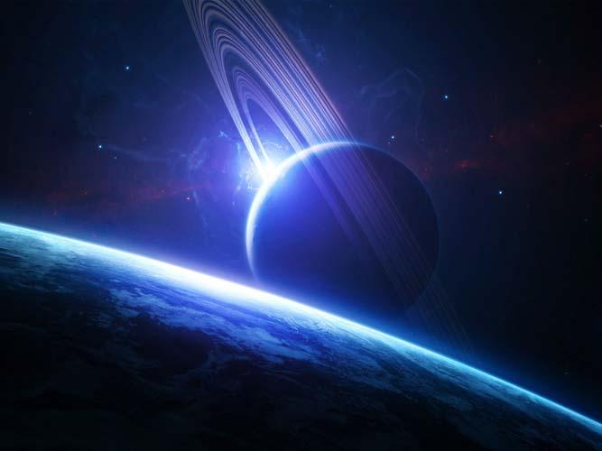 Небо и космос - 12 | Wall-Style