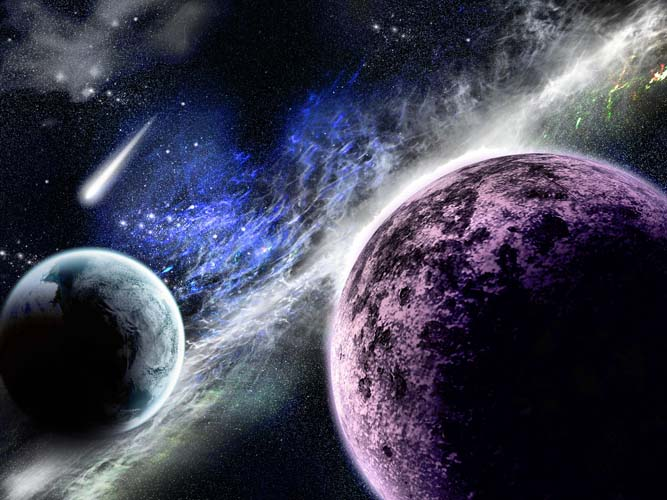Небо и космос - 2 | Wall-Style