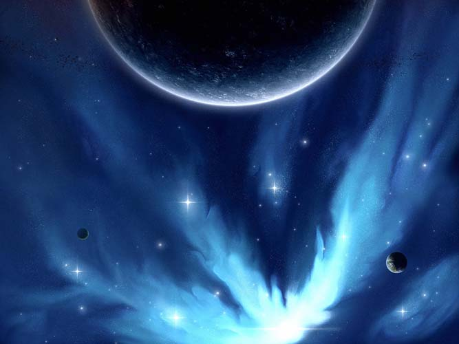 Небо и космос - 3 | Wall-Style