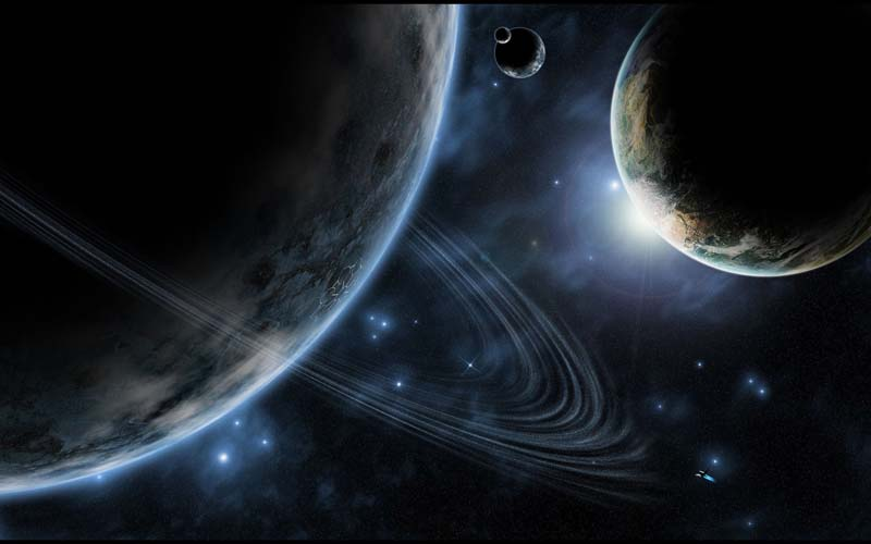 Небо и космос - 23 | Wall-Style