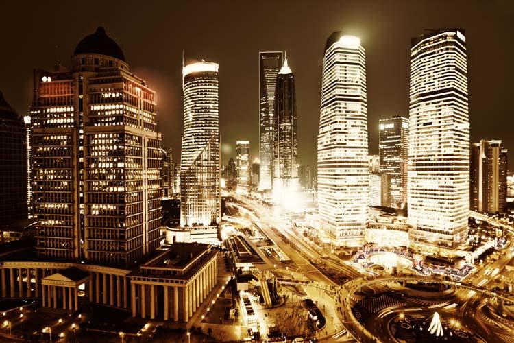 Современный город - 223 | Wall-Style