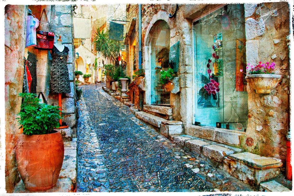 Старый город - 1 | Wall-Style