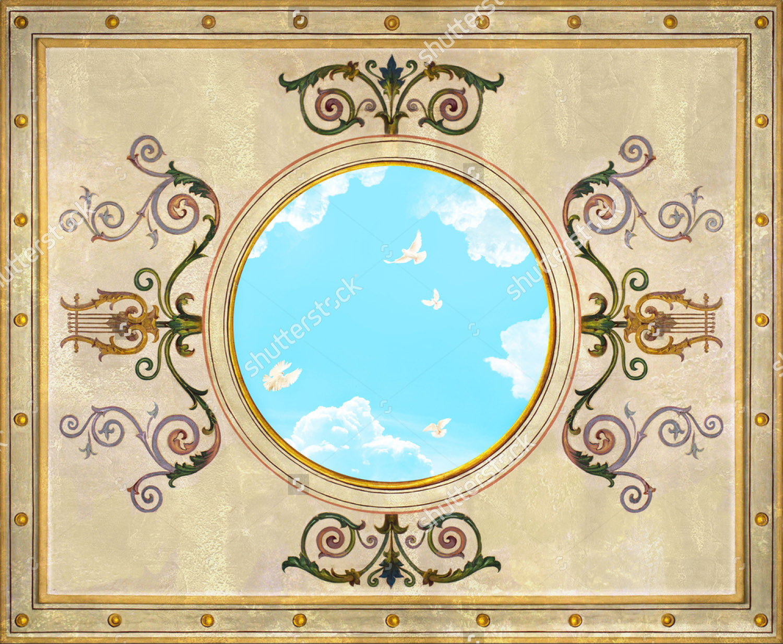 Современная фреска - 119 | Wall-Style