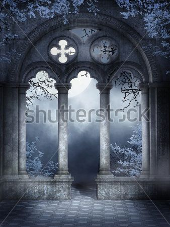 Готические окна