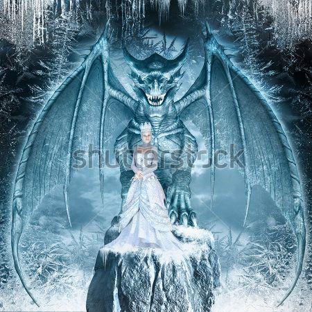 Снежная королева и дракон