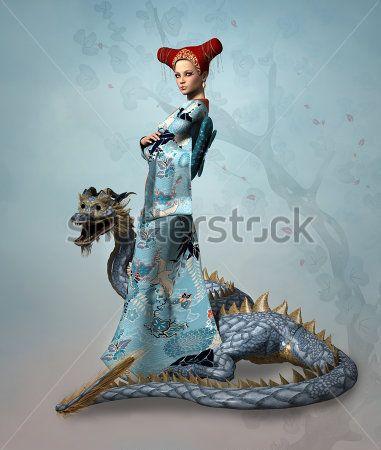 Волшебница и дракон