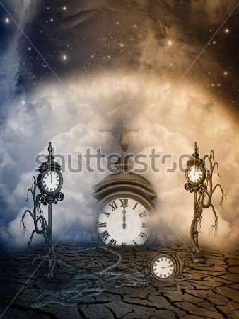Сказочные часы