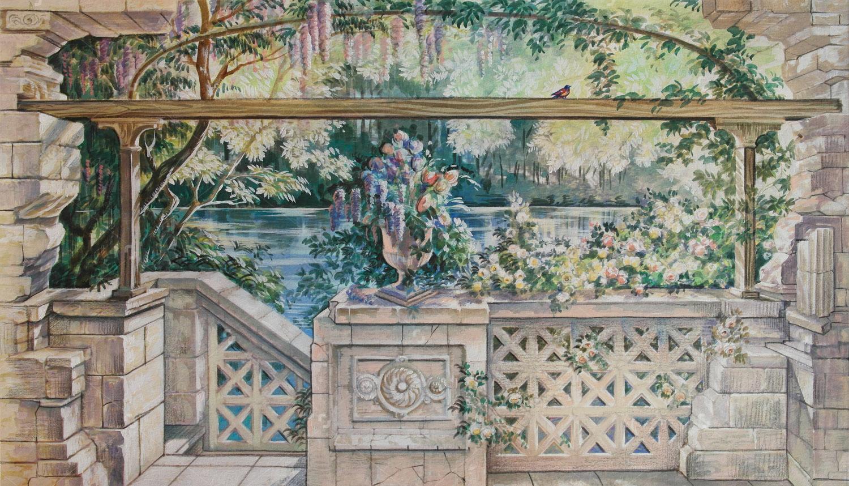 Современная фреска - 16 | Wall-Style