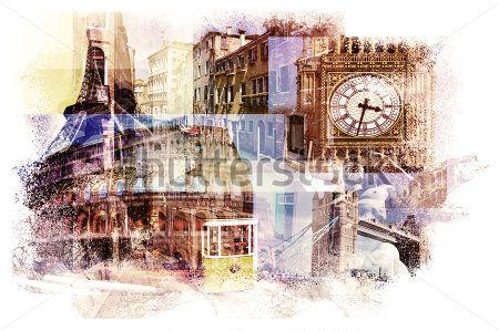 Старые города