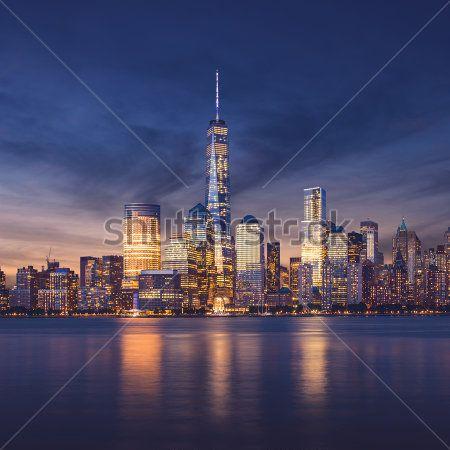 Современный город - 23 | Wall-Style