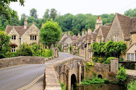Деревня в Англии