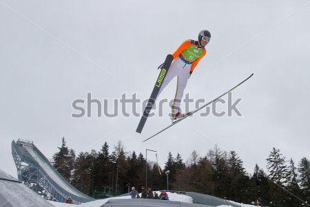 Прыжки На лыжах