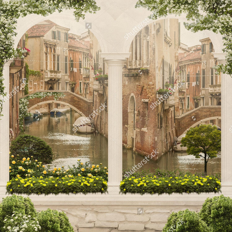 Современная фреска - 176 | Wall-Style