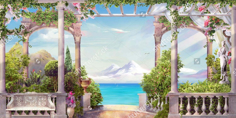 Современная фреска - 180 | Wall-Style
