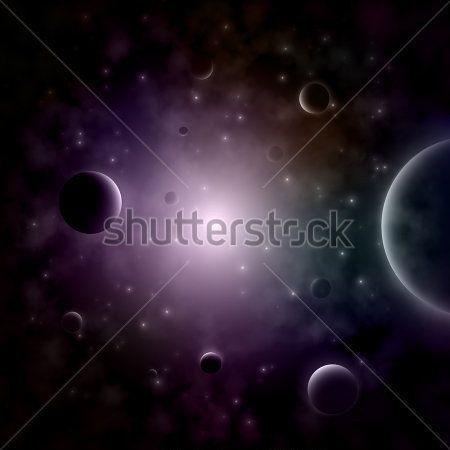Небо и космос - 6   Wall-Style