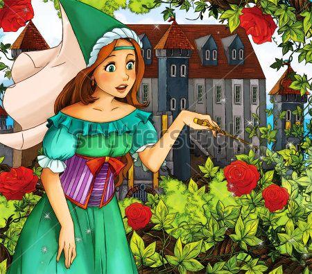 Каталог Картина фея крестная: Детские   Wall-Style
